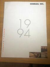 CONRAIL INC. - 1994 Annual Report  FREE SHIPPING