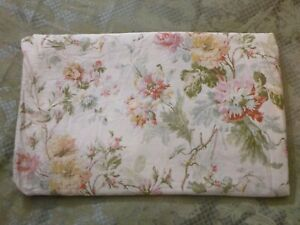 Ralph Lauren Wentworth Duvet Cover King Floral  flaw*