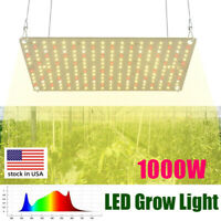 Full spectrum indoor growing quantum plate traditional 1000w led grow light
