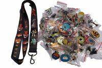 Disney World Pin Trading Lot Lanyard Starter Set Pixar Incredibles  w/ 25 Pins