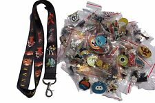 Disney World Pin Trading Lot Lanyard Starter Set Pixar Toy Story Cars w/ 10 Pins