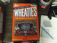 Wheaties Super Bowl Vi Super Replays Cereal Box -Roger Staubach On Front