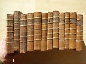 Vol. 1-12, 1770-1780. Sans les planches! Buffon, Histoire naturelle Oiseaux