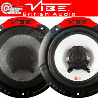 "NEW Vibe Pulse 6 6.5"" 17cm 165mm 360w Pair Car Door Shelf Coaxial Speakers Set"