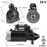 24V Anlasser für Ford Motor , Traktor , Marine , Truck , AR24-2712