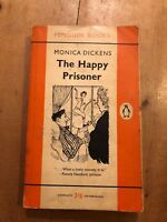 "1960 ""THE HAPPY PRISONER"" MONICA DICKENS FICTION PENGUIN PAPERBACK BOOK"