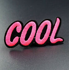 Cool Saying Motif Embroidered Iron On Sew On Patches Badges Transfers Bag Patch