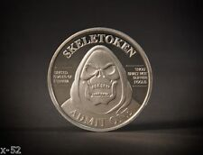SKELETOR COIN comic con SDCC exclusive MOTU he-man MASTERS of the UNIVERSE