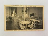 The Gold Dining Room Methodist Building Vintage Postcard Washington DC