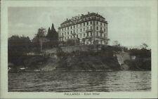 Pallanza Italy Eden Hotel Postcard