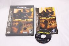 Nintendo Gamecube - Tom Clancy's The Sum of All Fears - Complete