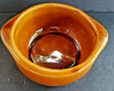 DCC USA Restaurant Ware Bowl Vintage Brown Glazed Pottery