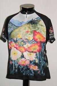 VOLER WOMENS 2XL XXL USA-made San Luis Obisbo Cycle/Bike Jersey