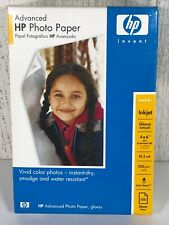 🌻 HP Advanced Photo Paper, Vivid Glossy (100 Sheets 4 x 6 Inch) Inkjet Printers
