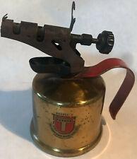 Vintage - Turner Brass Works - Blow Torch - Brass - Good Condition