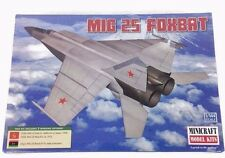 Minicraft Model Kit 14654 MIG25 FoxBat Fighter Jet 3 Marking Options 1:144 Scale