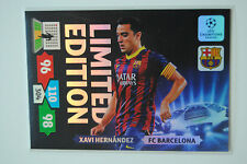 Xavi Hernández Limited Edition - Panini Adrenalyn XL Champions League 2013/14
