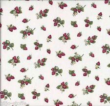 REST Patchworkstoff Makower Strawberries Baumwollstoff Stoff Erdbeeren Patchwork