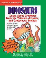 Dinosaurs (Little Giant Book), Thomas R. Holtz, Jr., illustrated by Terry Riley,