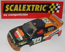 SCALEXTRIC CARROCERIA SEAT CORDOBA WRC #24 EFECTO BARRO  BLAZQUEZ-MERCADER  MINT
