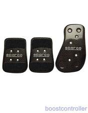 Sparco Carbon Fiber Foot Pedal Set 03783L