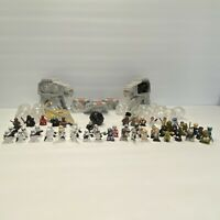 Assorted Lot of 80+ Hasbro Star Wars Galactic Heroes Mini-Figures Collectors Toy