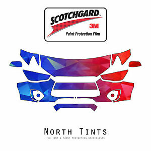 Mitsubishi Outlander Sport 2011-2015 3M Scotchgard Paint Protection Clear Bra