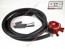 GrimmSpeed Red Air / Oil Separator for 2002-2007 Subaru WRX & 2004-2018 STi
