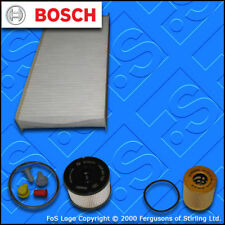 SERVICE KIT for PEUGEOT EXPERT 2.0 HDI OIL FUEL CABIN FILTERS (2007-2011)