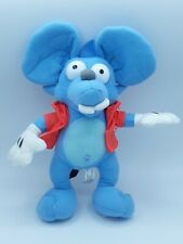 """The Simpsons Itchy and Scratchy Show ITCHY Plush Stuffed Animal 11"""" Toy Factory"""