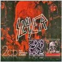 SLAYER - UNDISPUTED ATTITUDE/SOUTH OF HEAVEN 2 CD 24 TRACKS THRASH METAL NEU