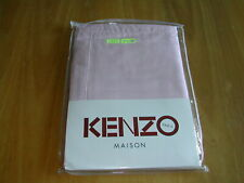 KENZO PINK PILLOWCASES  -  PACK OF 2  -  SATEEN COTTON  -  BRAND NEW SEALED PACK
