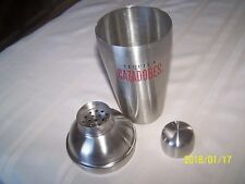 Tequila Cazadores Stainless Steel Shaker Brand New Collectible 3 piece Set