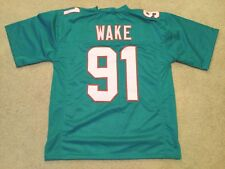 UNSIGNED CUSTOM Sewn Stitched Cameron Wake Teal Jersey - M fd5610748