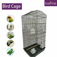 """36"""" Open Top Cockatiel Conure Parakeet Budgie Lovebirds Parrot Flight Bird Cage"""