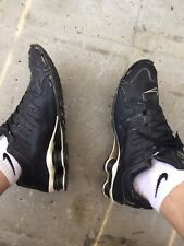 Nike Shox NZ 45 Schwarz Weiß Lack Leder Heavy Used Herren Gay'le