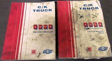 1994 Chevrolet GMC Dealer Service Shop Manual Set C/K Truck Pickup Repair