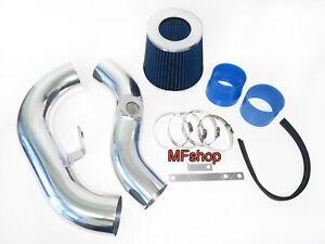 Blue For 2002-2007 Subaru Impreza WRX STI 2.0L 2.5L Cold Air Intake Kit + Filter