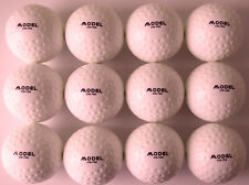Field Hockey Outdoor Ball White PVC Dimple Match Ball | Pack Of One Dozen |