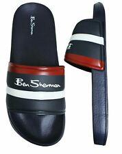 New! Ben Sherman Mens Sliders Beach Flip Flops Holiday Sandals Navy