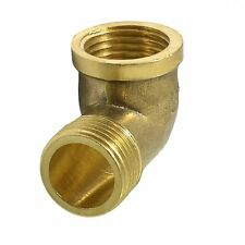 1/ 2PT Male to 1/ 2NPT Female Thread Elbow Pipe Coupler N3