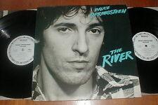 """BRUCE SPRINGSTEEN Orig 1980 """"River"""" 2-LP WHITE LABEL PROMO VG++"""