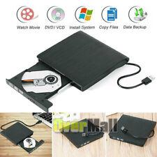 USB3.0 External DVD Drive Slim Portable Writer/Burner/Rewriter/CD ROM Drive US