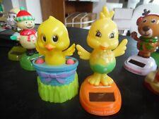 2 Easter Solar dancing figures- chicks