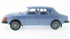 Stahlberg - Saab 99 GL 4-Door 1981 graublau metallic 1:20 Finland Plastik Model