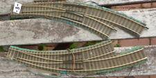 Fleischmann 6142 H0 2 Stück elektrische Bogen-Weichen links + rechts gebraucht-3