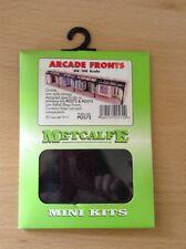 Metcalfe Mini Kits PO572. Arcade Fronts Kit. OO Scale.