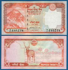 Nepal 20 rupias (2009) UNC p. 62