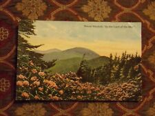 "Vintage Postcard Mount Mitchell, ""In The Land Of The Sky"""