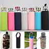 For 420/550mL Sport Water Bottle Cover Neoprene Insulated Sleeve Bag Case Pouch